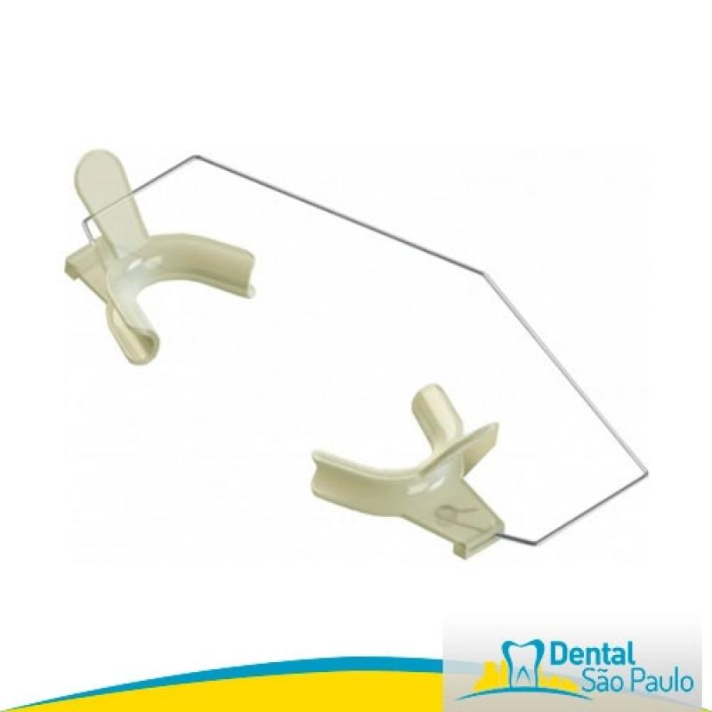 Afastador de Boca e Afastador Ortodontia Parque Peruche - Afastador Labial para Fotografia Frontal Lateral
