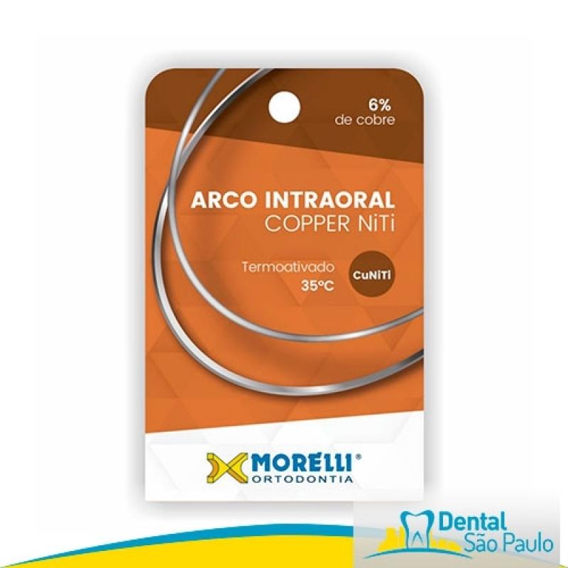 Arcos Niti para Ortodontia Preço Santana de Parnaíba - Arcos Niti Orthometric
