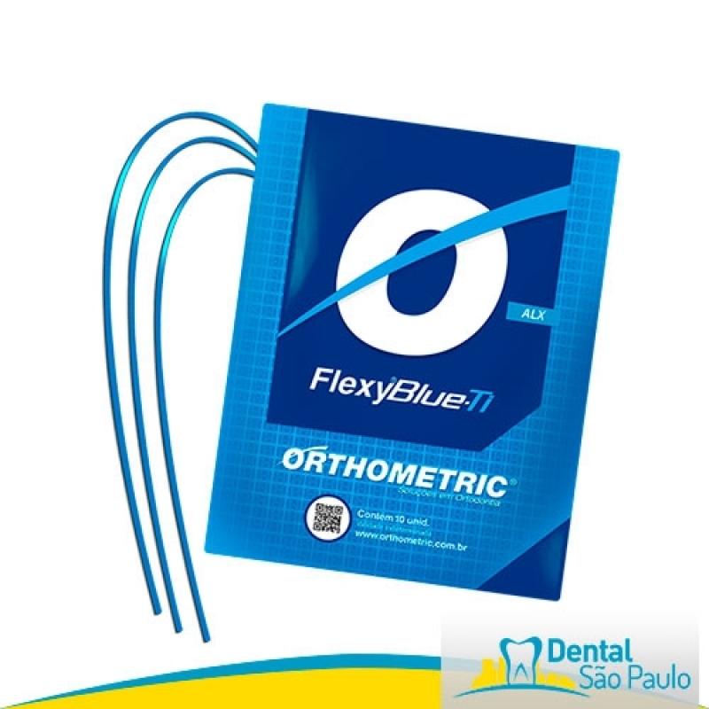 Arcos Niti para Ortodontia Caieiras - Arcos Niti Morelli
