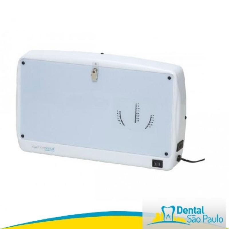 Negatoscopio Odontológico Barato Socorro - Negatoscopio Odontológico Slim Led de Parede