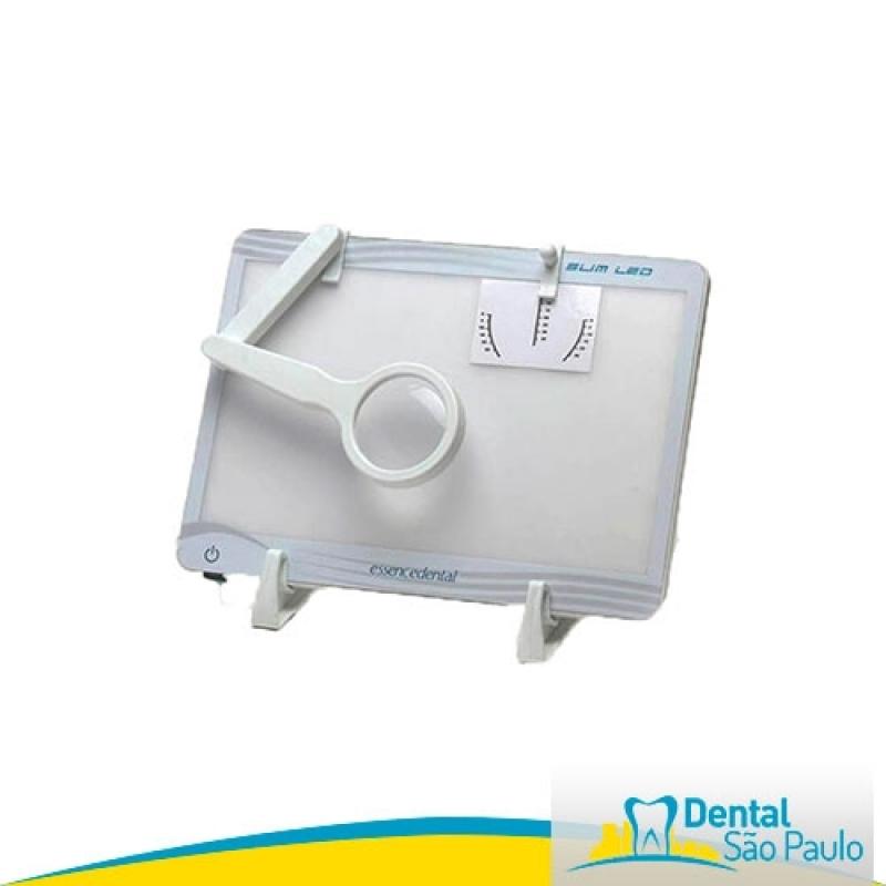 Negatoscopio Odontológico com Lupa Barato Taubaté - Negatoscopio Odontológico Ultra Slim Led