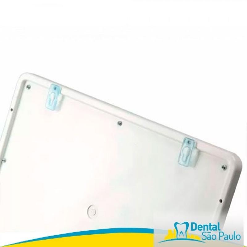 Negatoscopio Odontológico Panoramico Valor Bixiga - Negatoscopio Odontológico Slim Led de Parede