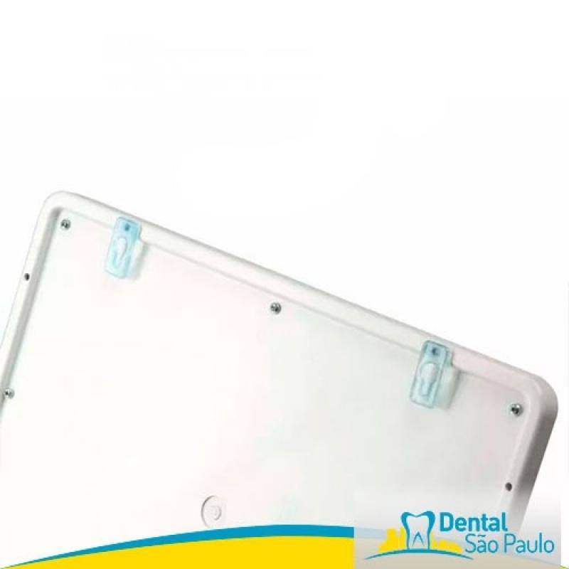 Negatoscopio Odontológico Slim Led Azul Valor Engenheiro Goulart - Negatoscopio Endo Panoramico Essence