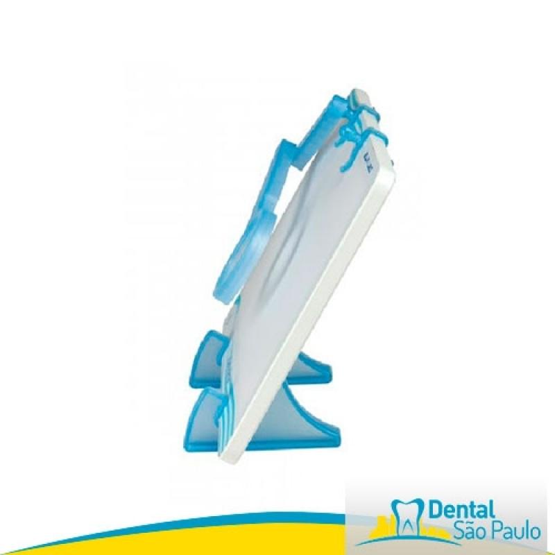 Negatoscopio Odontológico Slim Led Branco Taubaté - Negatoscopio Odontológico Slim Led Azul