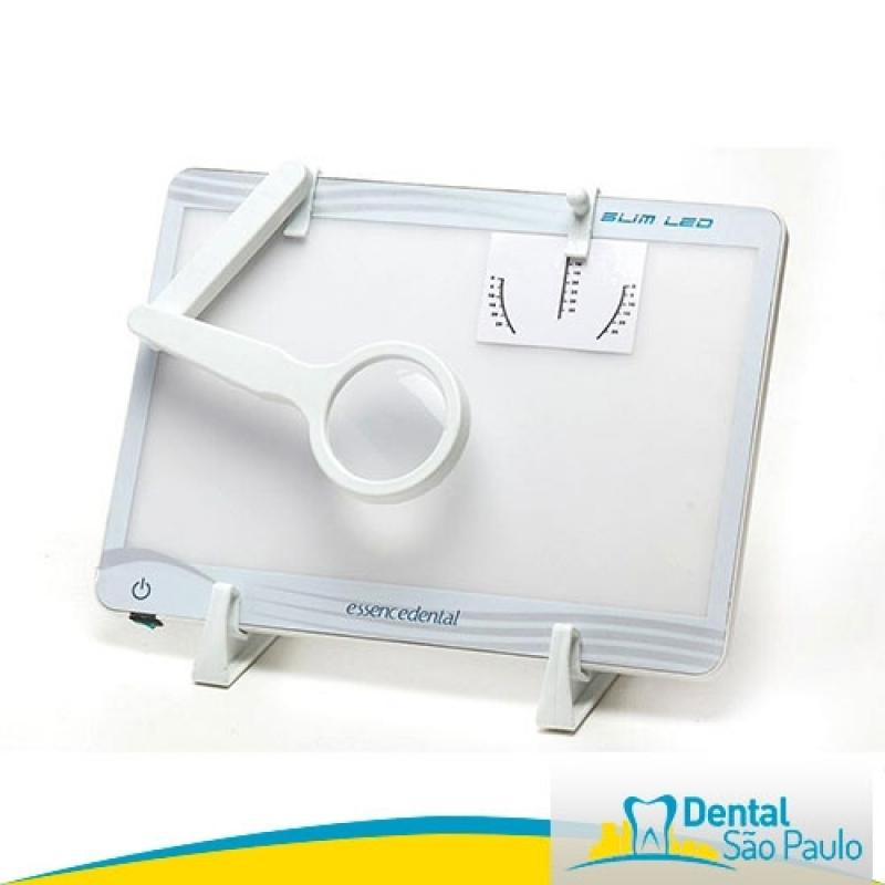 Onde Comprar Negatoscopio Odontológico Ultra Slim Led Indaiatuba - Negatoscopio Odontológico Slim Led Azul