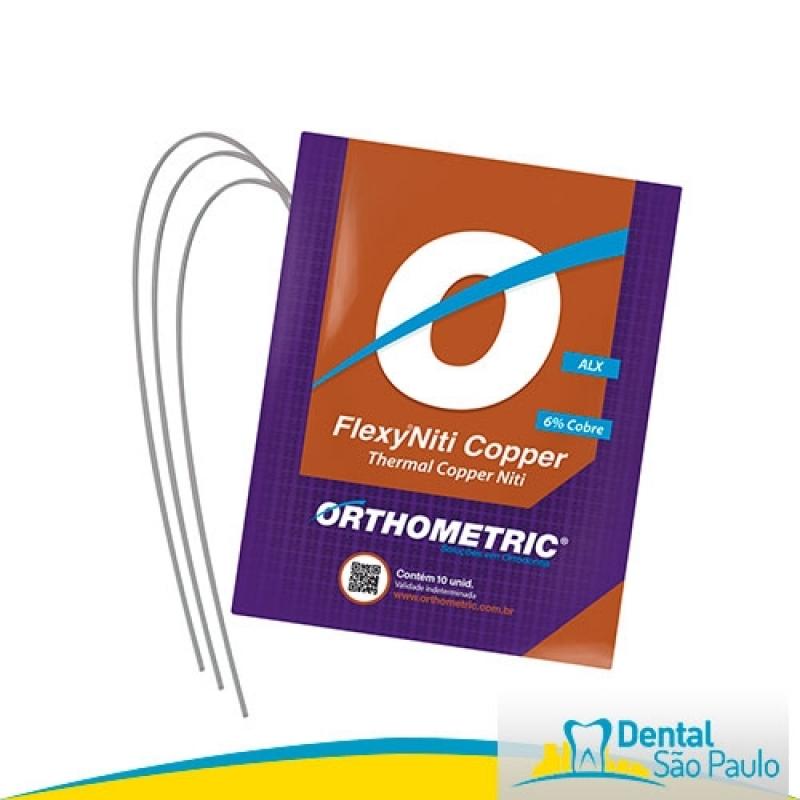 Onde Encontro Arcos Estéticos Orthometric Centro - Arcos Niti para Ortodontia