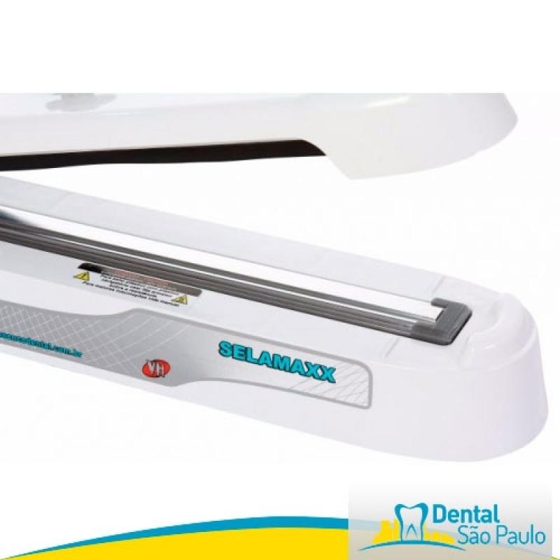 Seladora Odontológica Selamaxx com Suporte Preço Jacareí - Seladora Odontológica