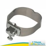 bandas ortodônticas com tubos simples valor Itanhaém