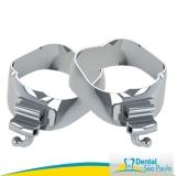 bandas ortodônticas com tubos triplo valor Mandaqui