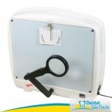 negatoscopio odontológico com lupa ABC