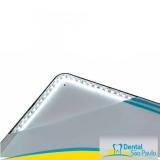 negatoscopio odontológico slim led azul barato Murundu