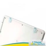 negatoscopio odontológico slim led azul